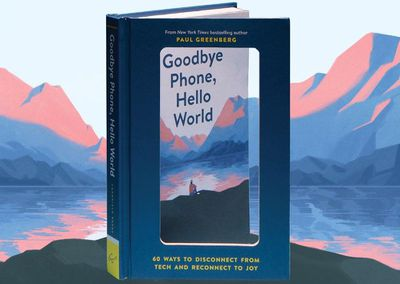 Cover of goodbye phone book