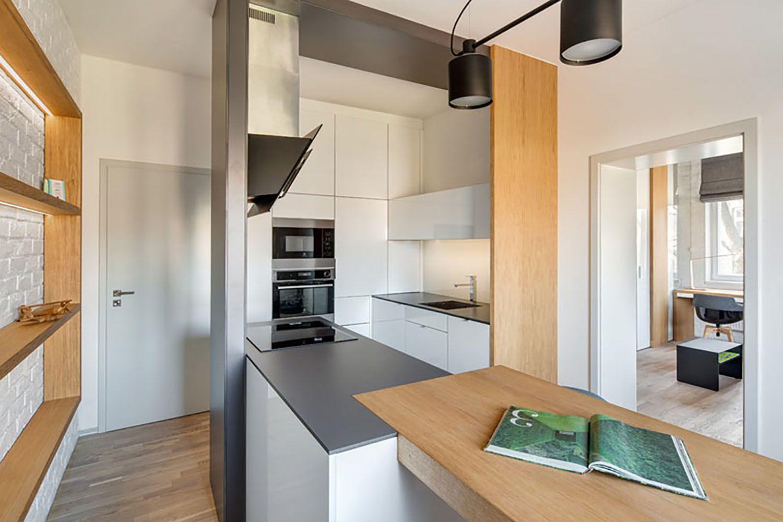 man's lair micro apartment boq architekti Tomas Dittrich