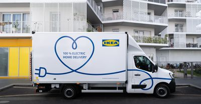 Ikea electric truck