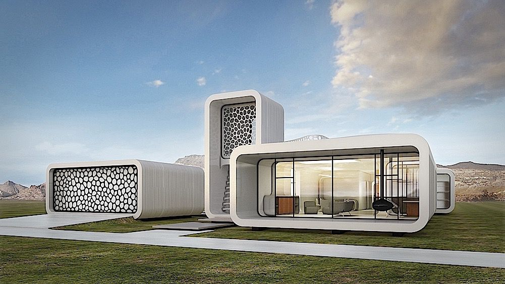 museum of the future 3D printed building