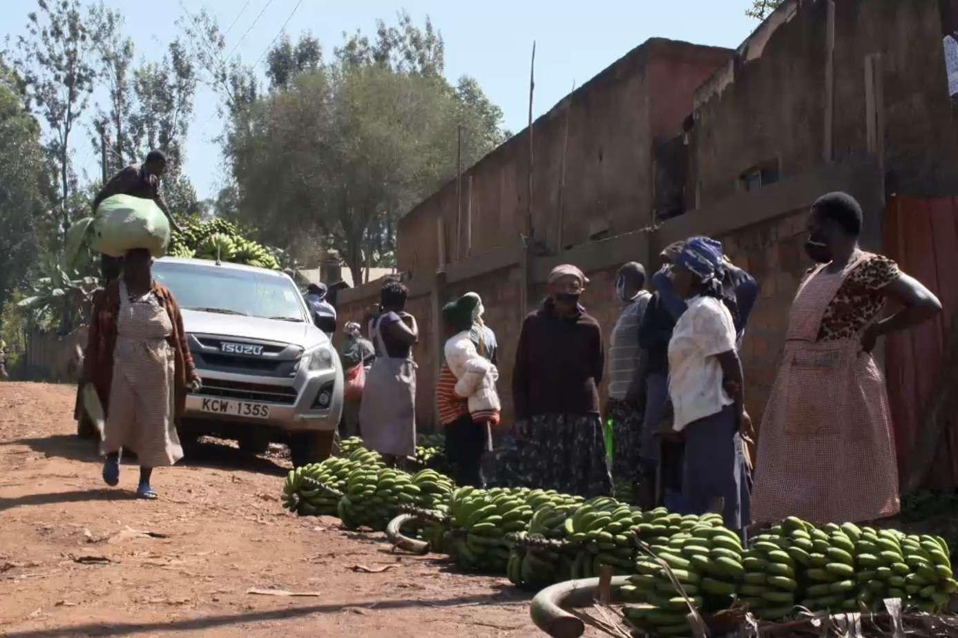 Kenyan banana market