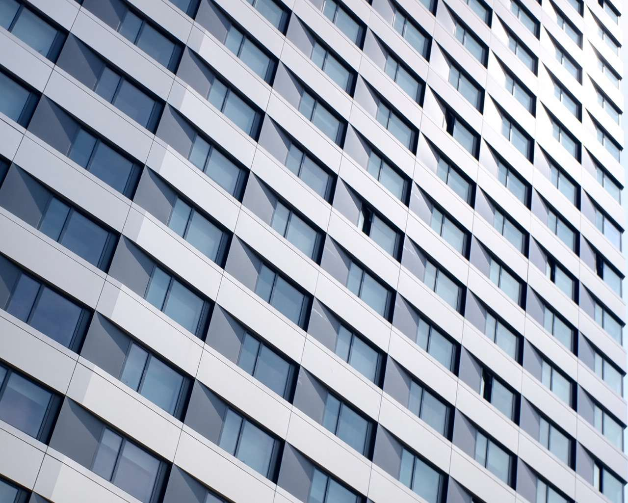 closeup of skin of The House at Cornell Tech