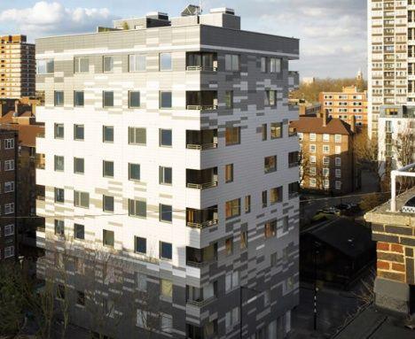 waugh thistleton KLH Stadhaus London photo exterior