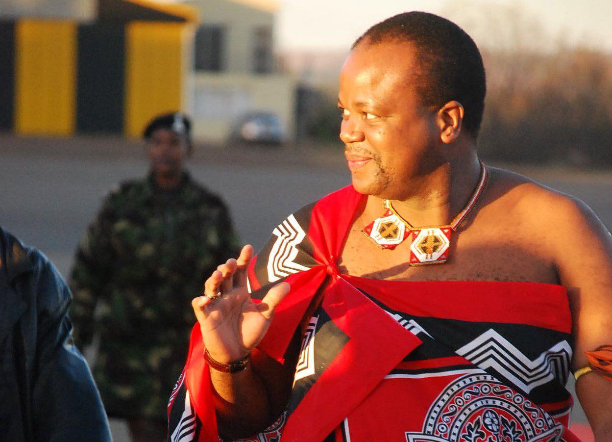 King Mswati III