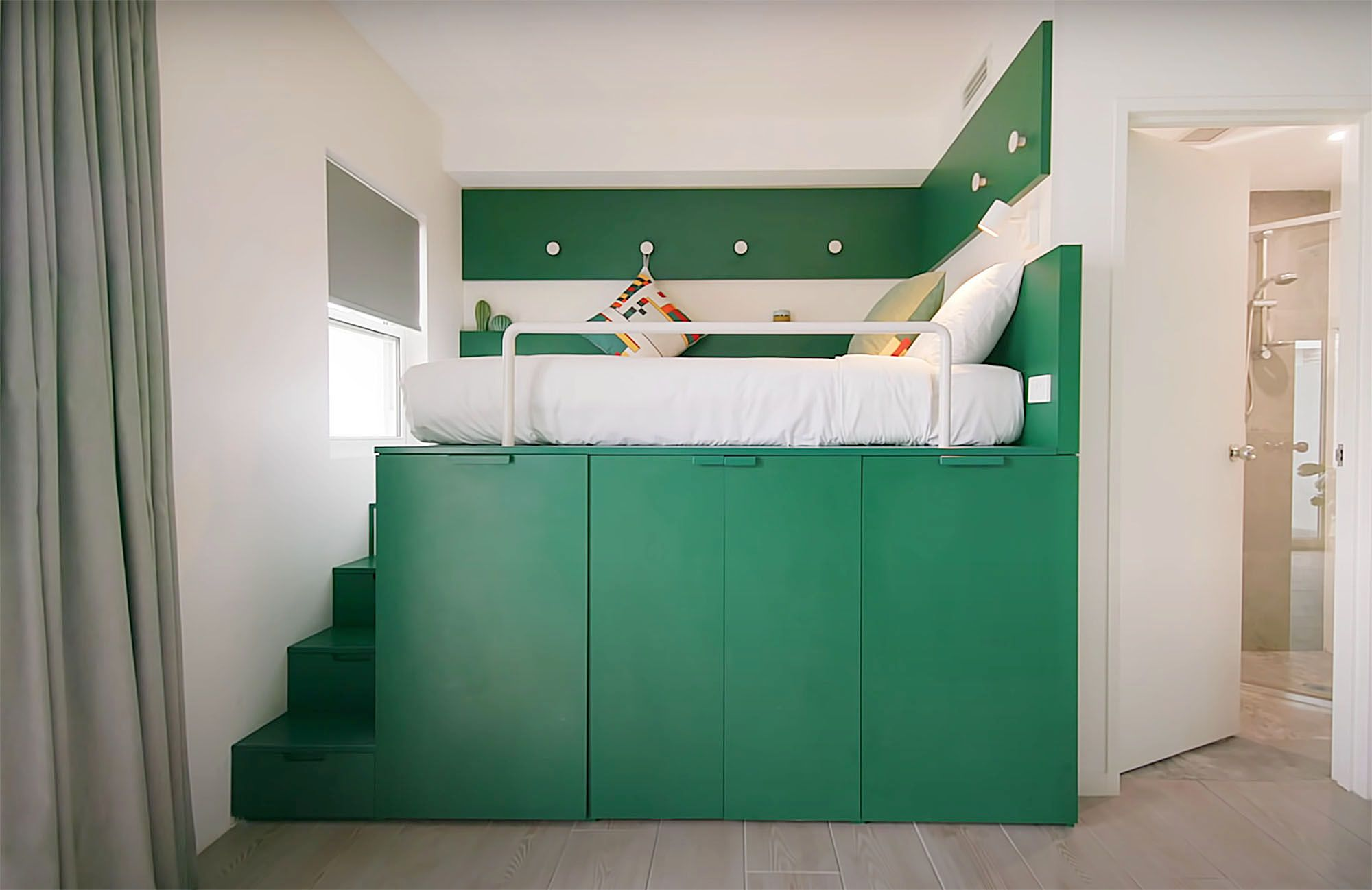 UKO stanmore coliving micro-apartment Mostaghim Associates bed