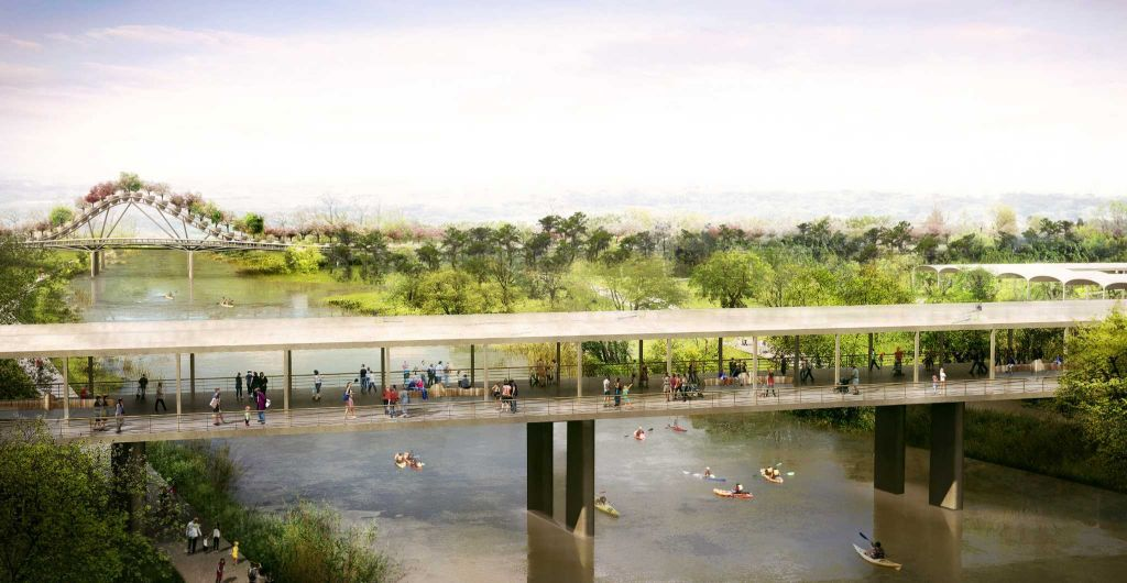 Rendering of the Houston Botanic Garden, a 120-acre attraction planned for completion in 2020.