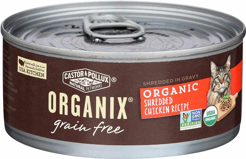 Castor & Pollux Organix Cat Shredded Chicken Recipe