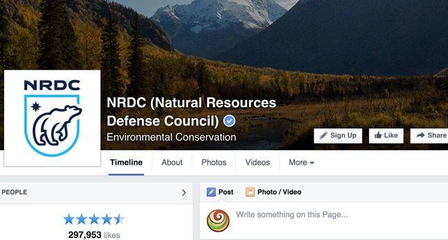 NRDC on Facebook