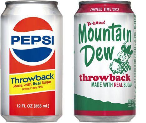 Pepsi Throwback usa azúcar real, pero ¿es mejor para ti?