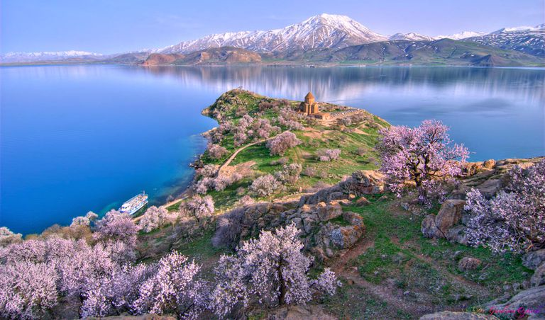 Lake Van, rich in history from settlements dating back thousands of years, is the world's largest sodium lake.