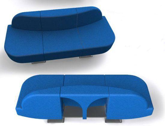 Roel Verhagen Kaptein convertible sofa