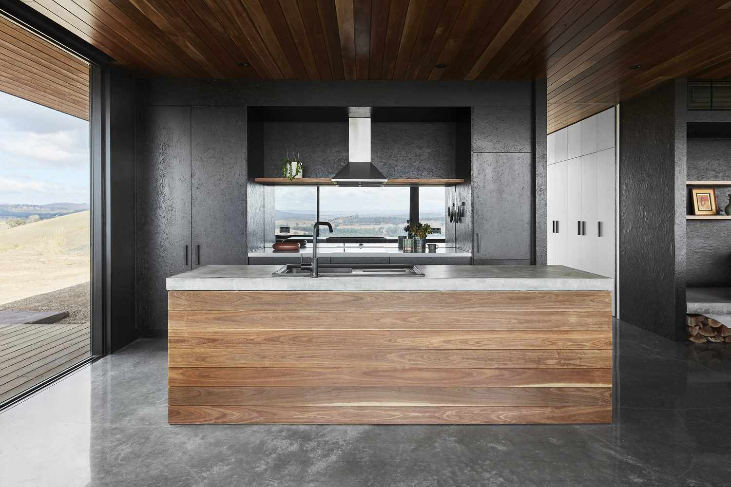 Elemental House by Ben Callery Architects kitchen