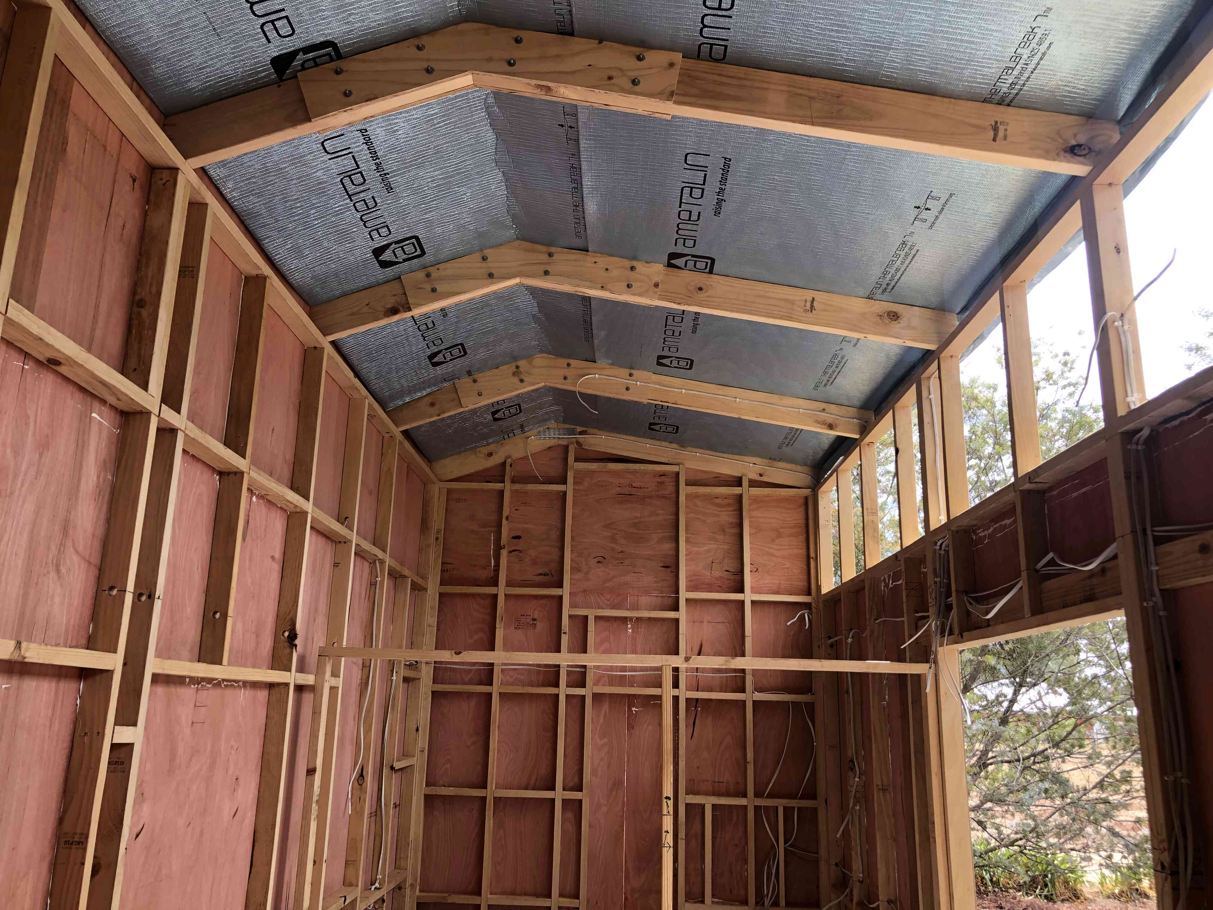 Fred's tiny house insulation