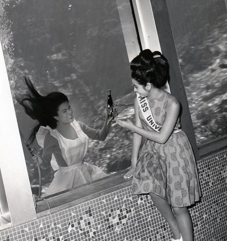 Rita King and Miss Universe