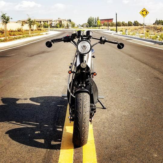 Rumble Motors electric scooter