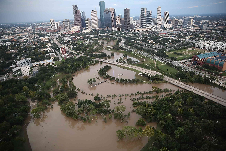 Catastrophic flooding hits Houston following Hurricane Harvey