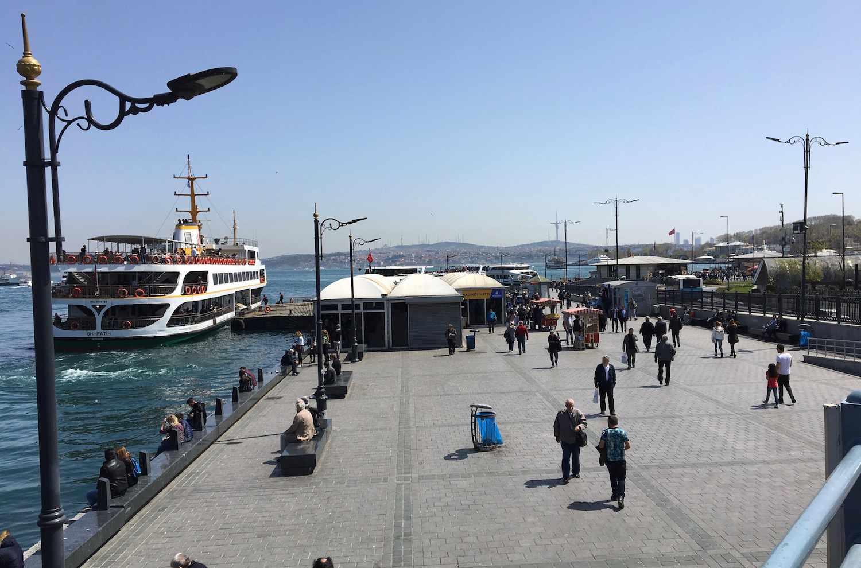 ferry at Eminönü