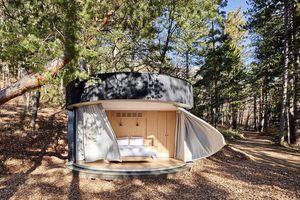LumiPod prefab cabin by Lumicene exterior