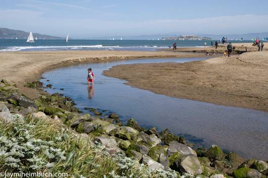 San Francisco Crissy Field beach