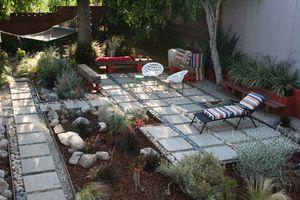 sustainable garden, patio