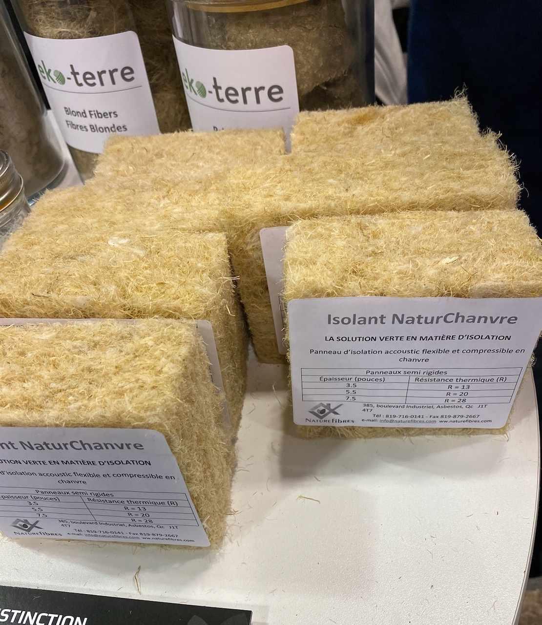 Naturfibre hemp insulation
