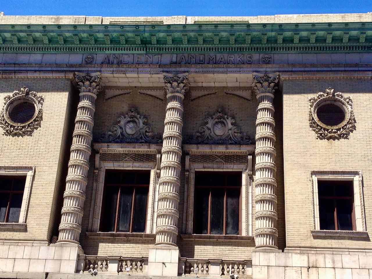 Ancient landmarks in Buffalo