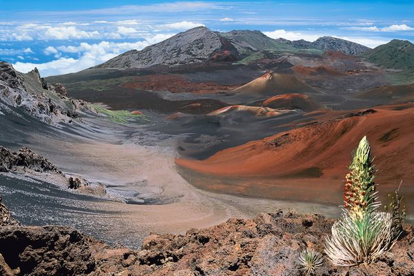 Haleakala National Park on Maui, Hawaii