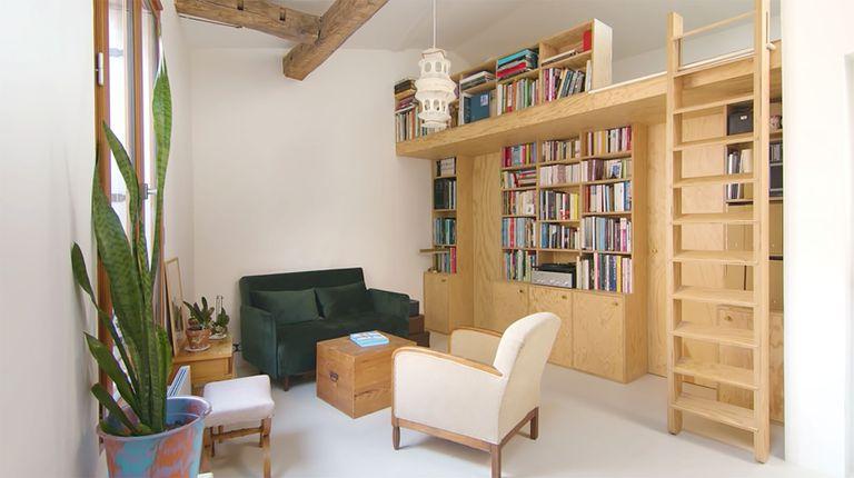 Jourdain micro-apartment renovation Matthieu Torres interior
