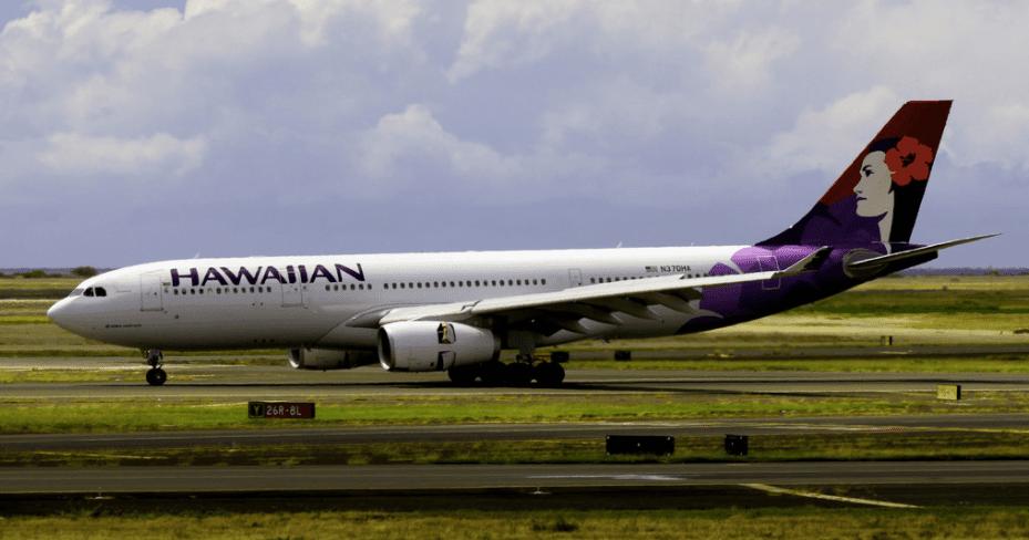 Plane at Honolulu Airport