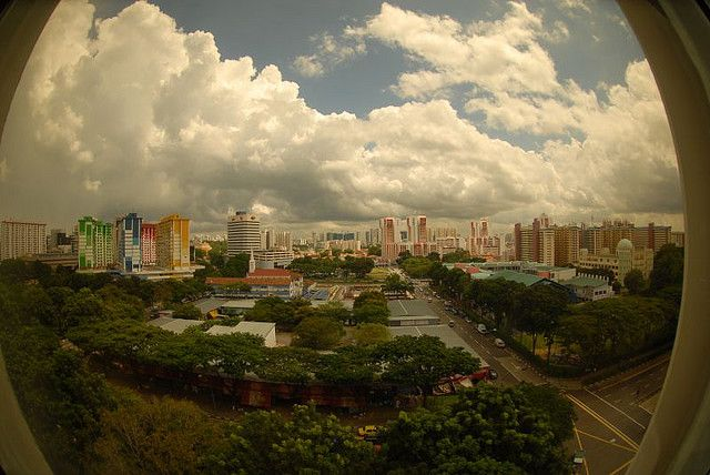 singapore cityscape photo
