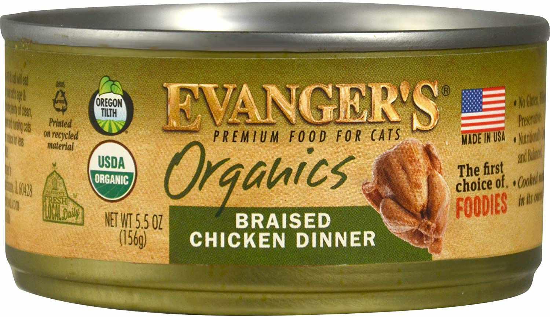 Evanger's Organics Braised Chicken Dinner
