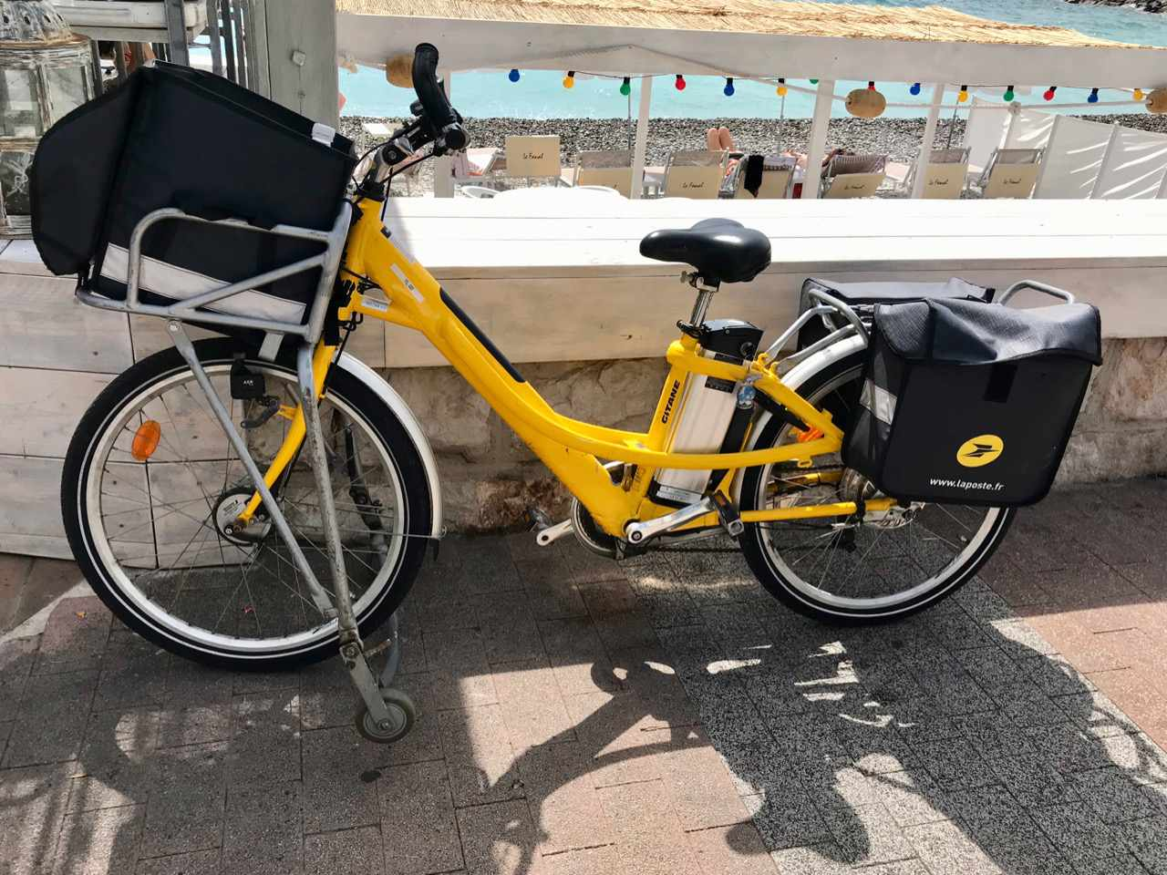 Electric Bike in France