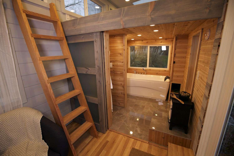 Tiny house spa