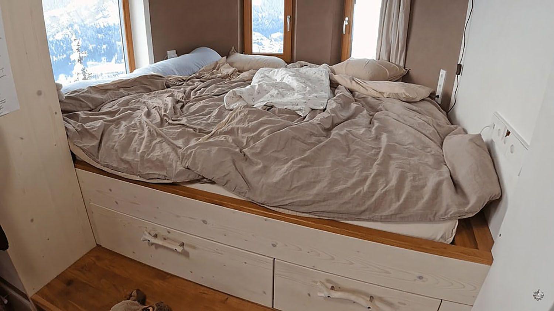 Hallo Holger tiny house bed