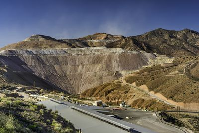 Copper Mine tailings