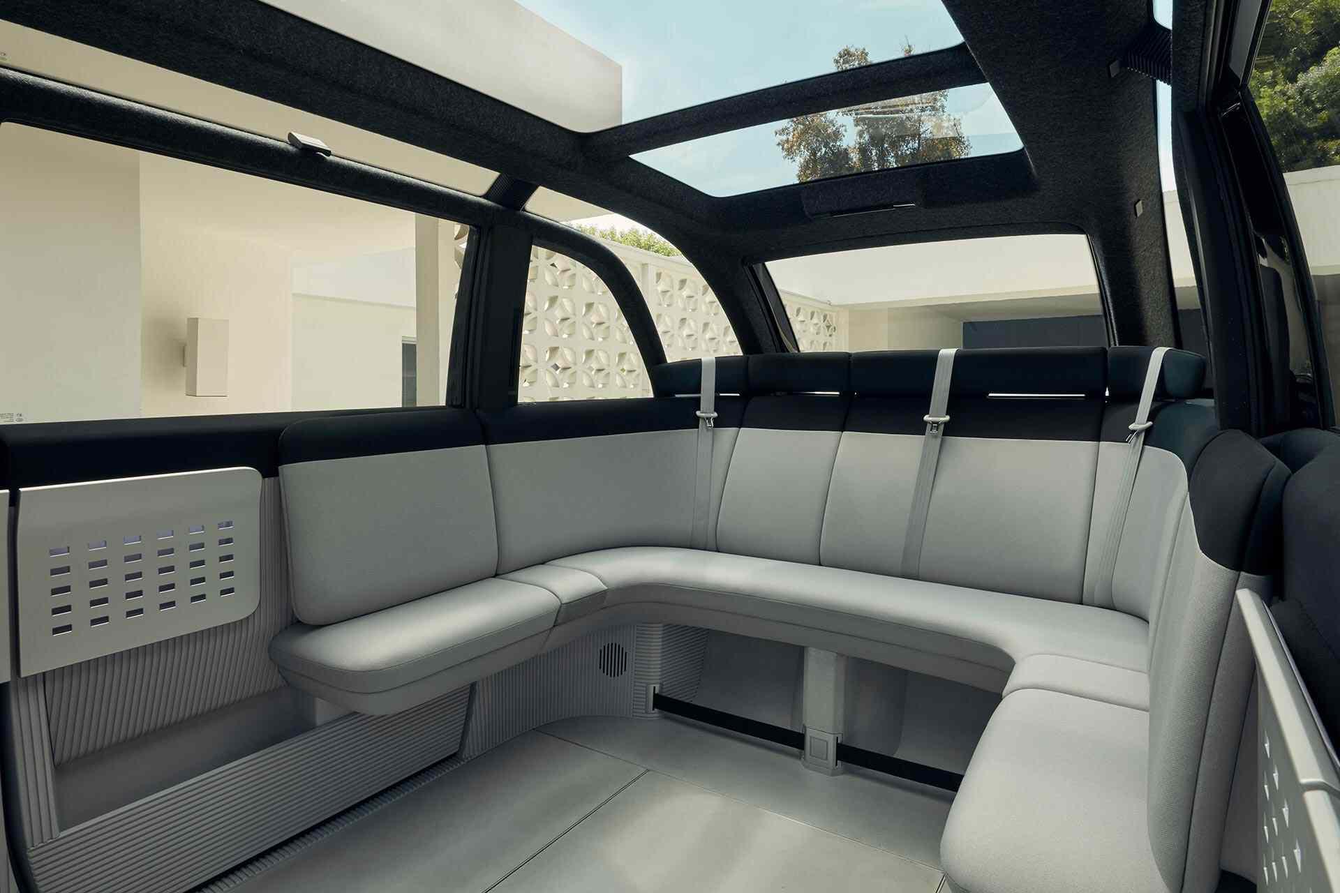 Canoo interior
