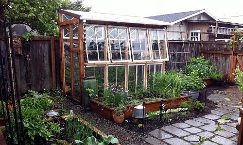 Window frame greenhouse