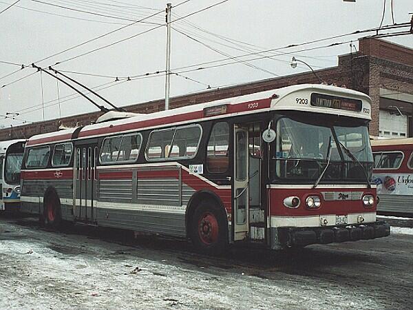 toronto trolley