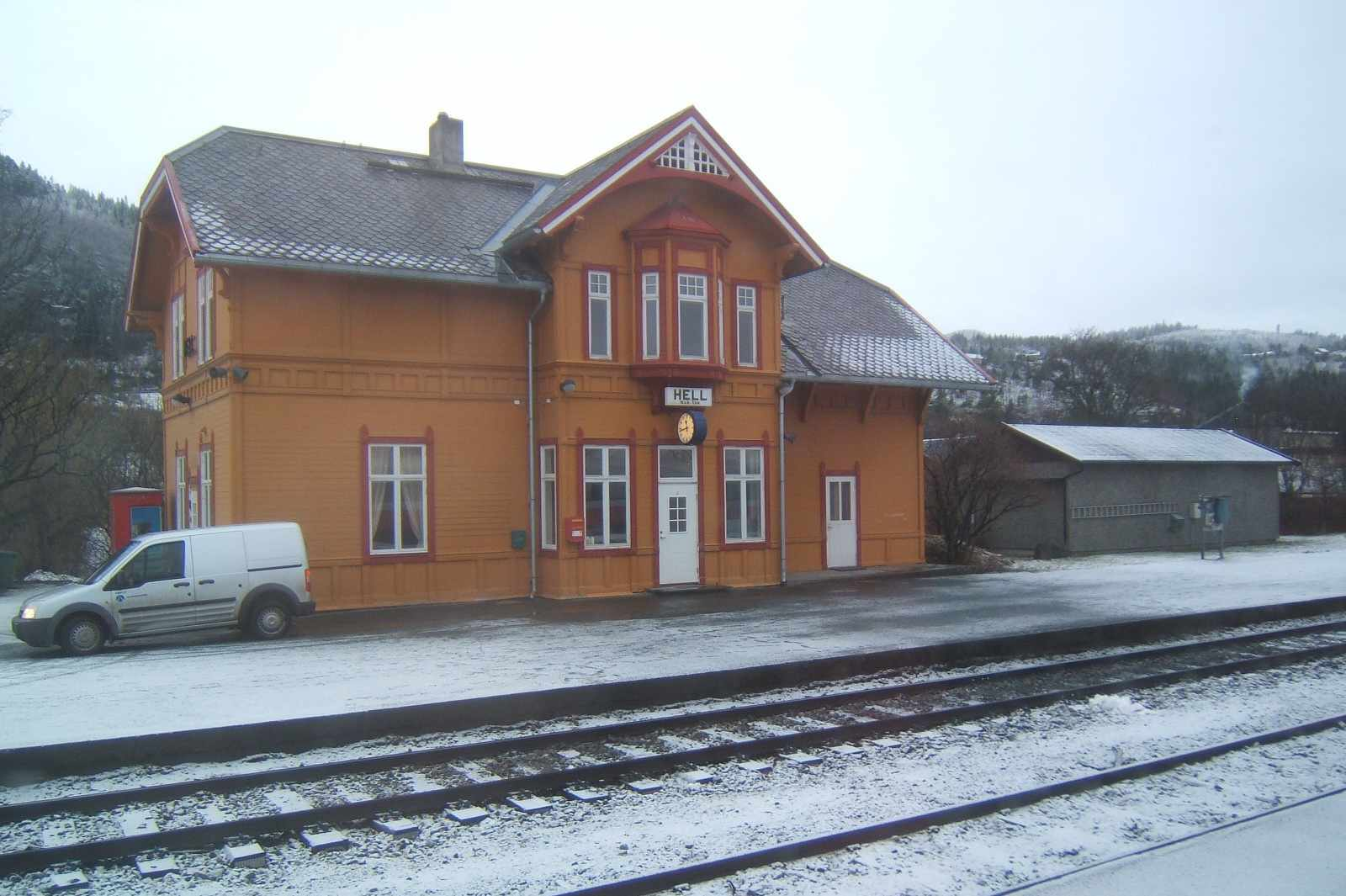 Hell, Norway, train station
