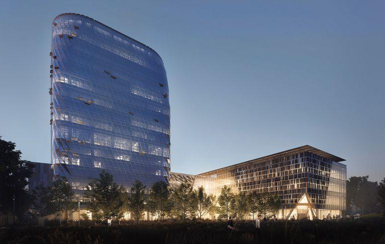 Good Bones es un buen lugar para comenzar con Net Zero Carbon MacKimmie Complex en Calgary