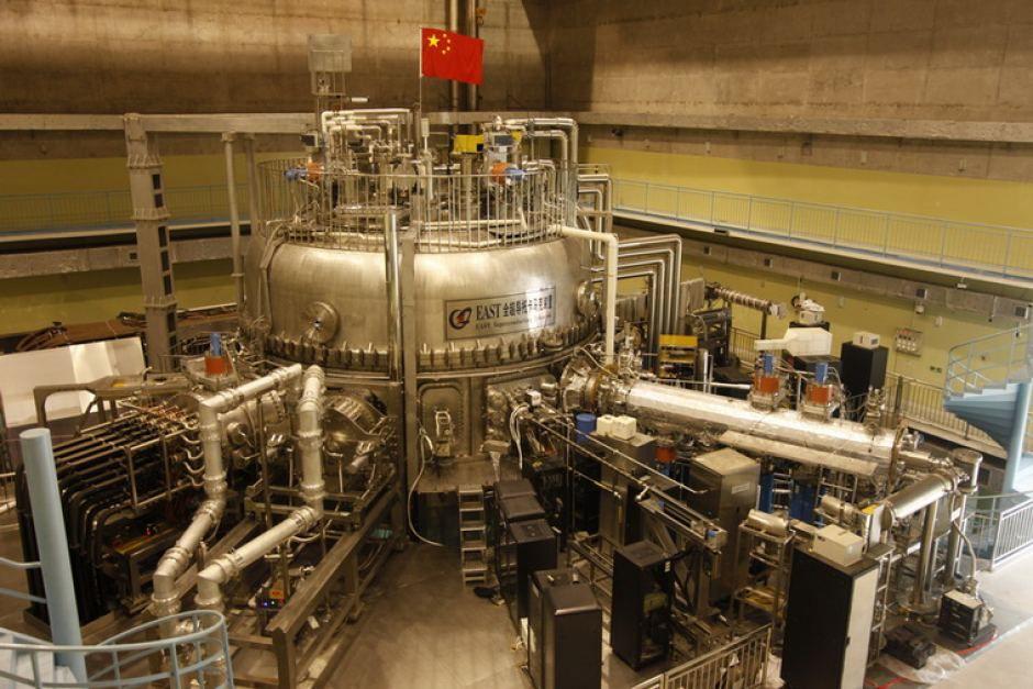China's Institute of Plasma Physics' Experimental Advanced Superconducting Tokamak or EAST.