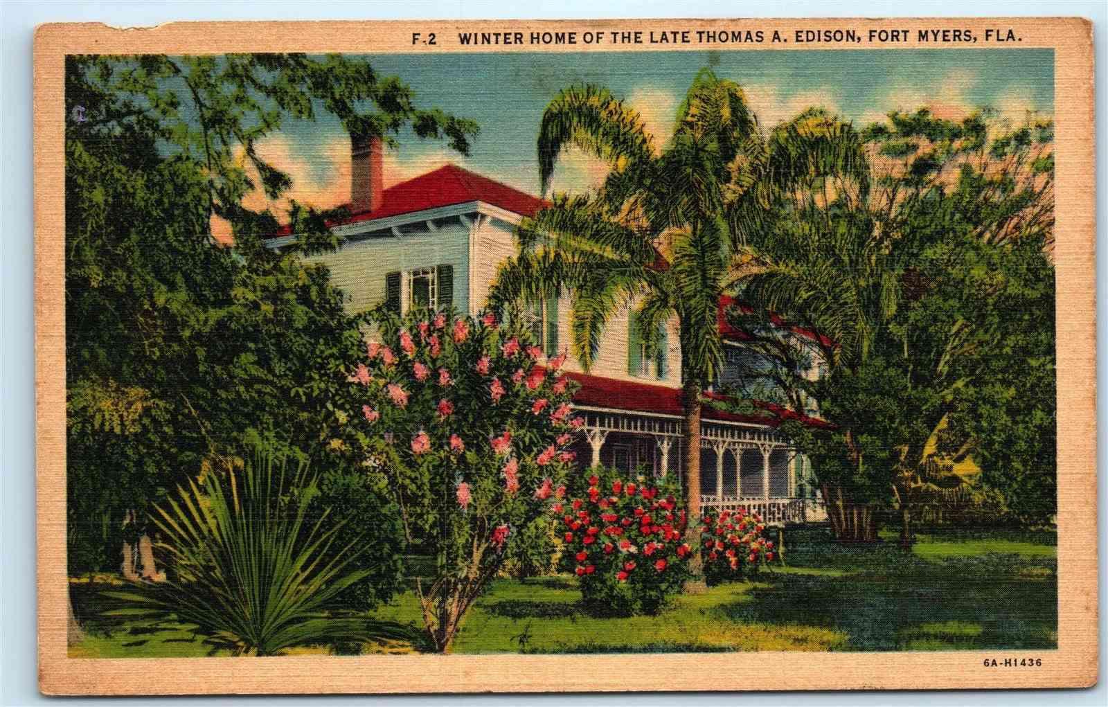 Thomas Edison house/ Fort Myers