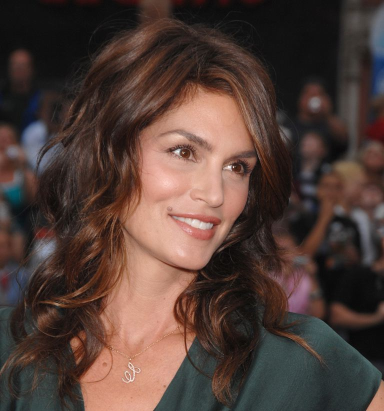 Cindy Crawford on the red carpet