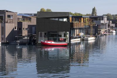 Floating Home Exterior