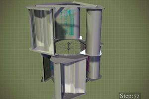 Screen capture from the turbine tutorial
