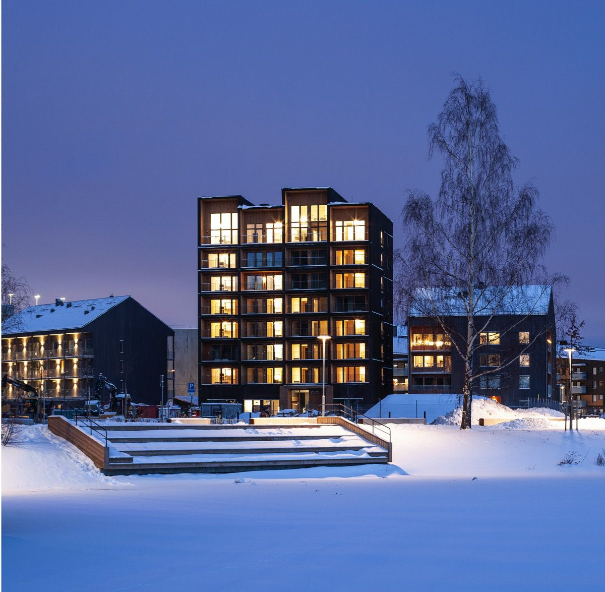 Tallest Timber Tower in Sweden Is About a Lot More Than Just Wood