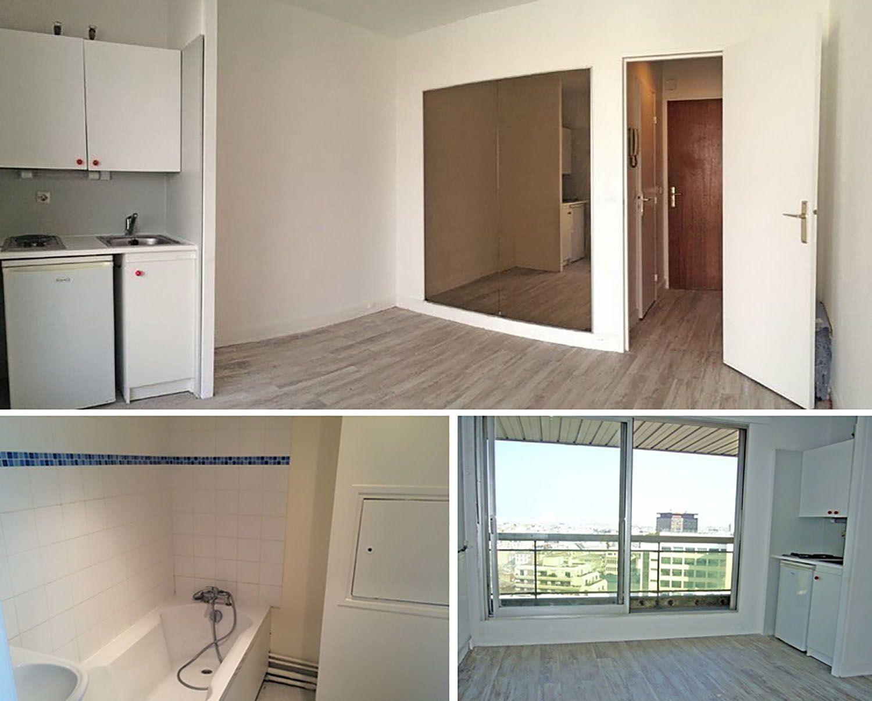 micro apartment rue falguiere renovation Studio Beau Faire old interior