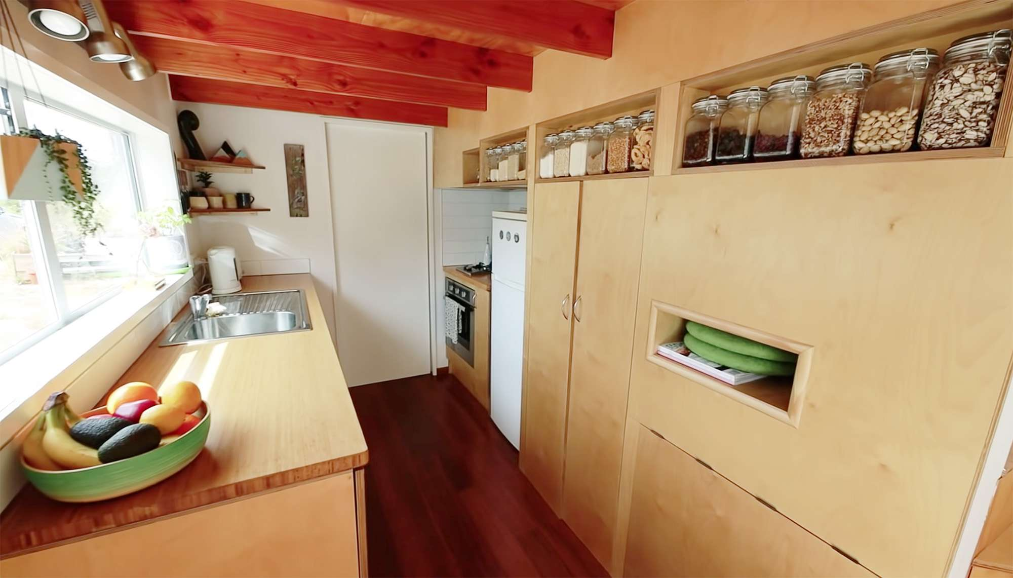 tiny house with movie loft Living Big In A Tiny House kitchen