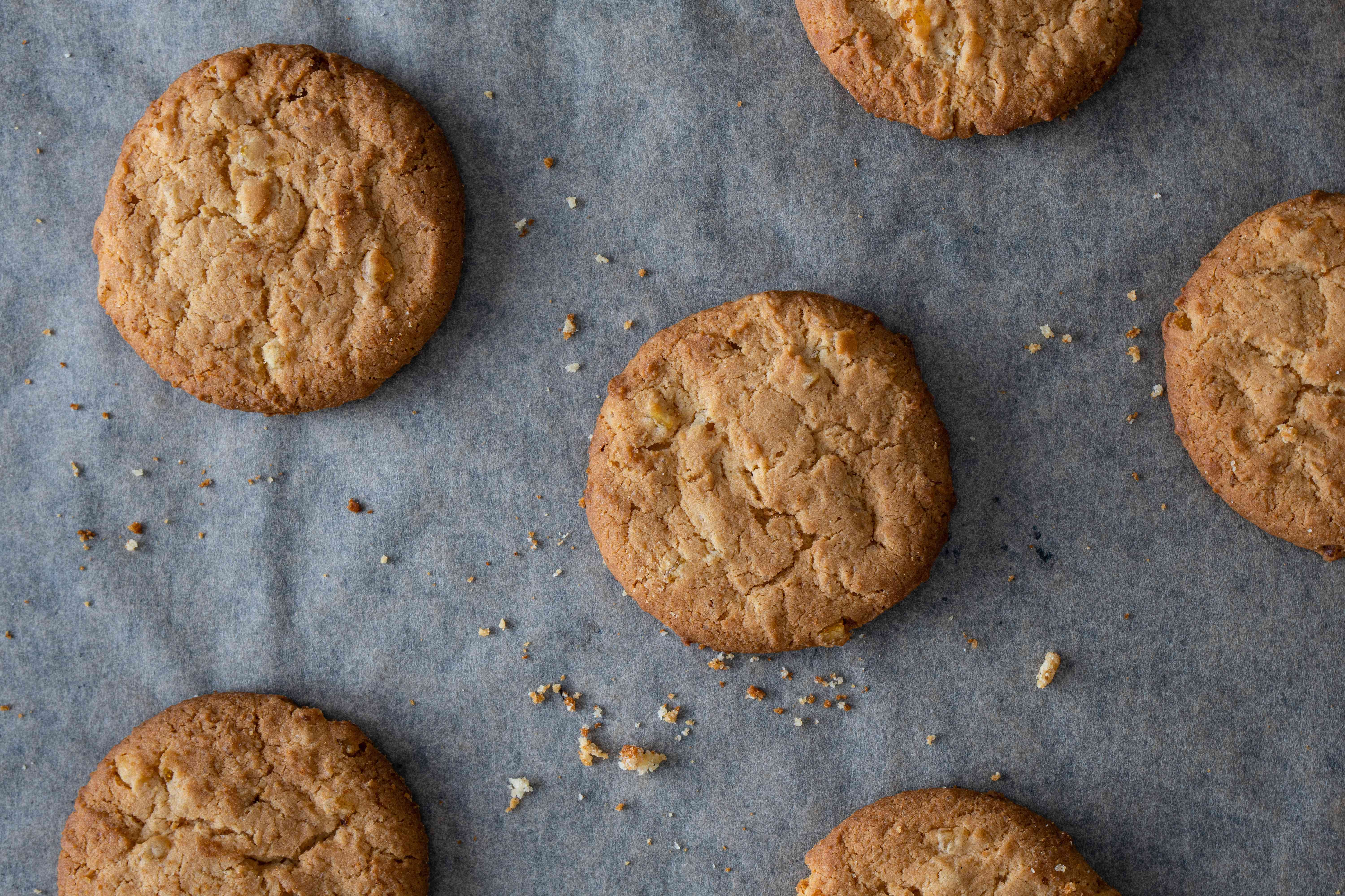 biscuit cookies too much flour