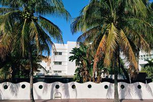 Historic Art Deco District in South Beach, Miami, USA